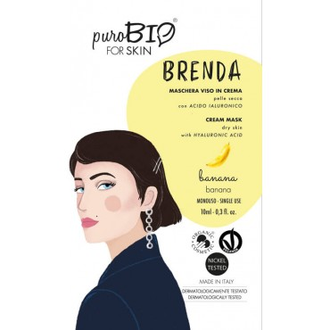 Maschera Viso Bio Brenda |...