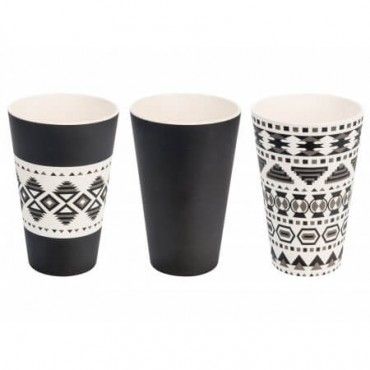 Set 3 x Bamboo Cups
