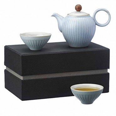 Tea Set Coreano Blu