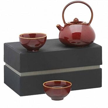 Tea Set Coreano Rosso