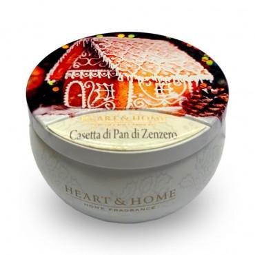 Tin Candle Casetta Pan di...