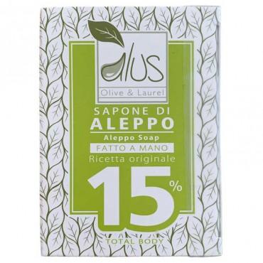 Sapone di Aleppo 15%